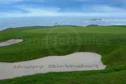 Happy Birthday Golf Course